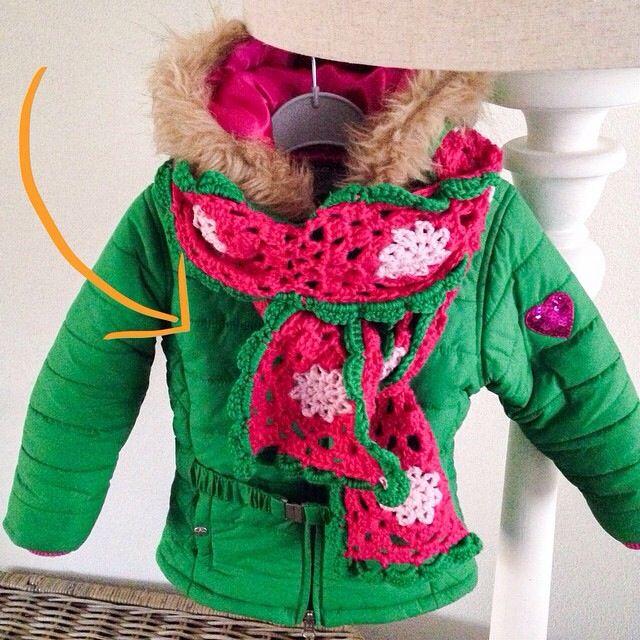 Sjaaltje Lieve  #haken #crochet