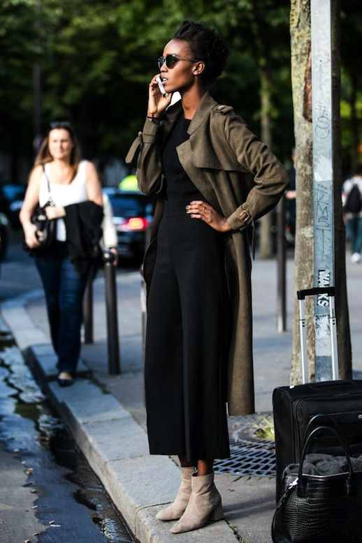 An Incredibly Chic Trench Coat Outfit To Try Now