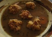 Tyrolské knedlíčky do polévky