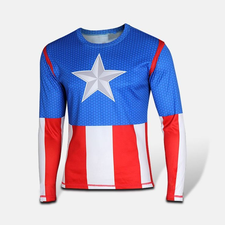 new avengers spiderman, batman, superman, iron man men long sleeve T-shirt avengers alliance 2 superhero T-shirt //Price: $US $5.66 & FREE Shipping //     #hoodie