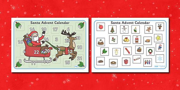 Calendar Ideas Twinkl : Pin by maree londeen on time pinterest advent calendar