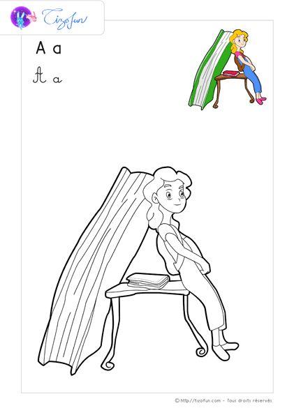 1000 ideas about lettre minuscule on pinterest l - Coloriage d alphabet ...