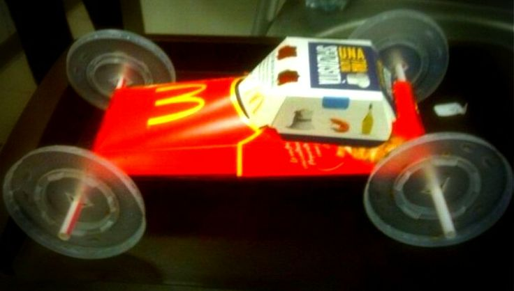 Thinking out of the box! Best out of waste! Time Pass at McDonald's