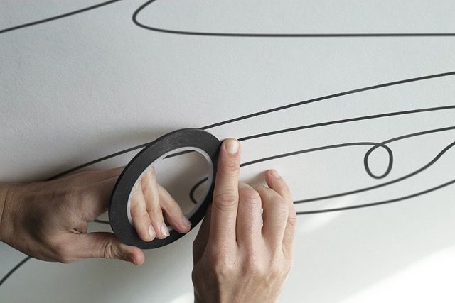 Behind The Scene Pictures of Micra Drawn in One Line  This duo of French creatives are specialized in drawings made in one stroke. On the occasion of the release of the new Nissan Micra Differently didnt hesitate to reveal the curves and the singular shape of the last city car of the mark. The minimalist drawings of the Differantly studio proposes to reveal only the lines as refined as dynamic of the car. In pen or masking tape very thin discover the behind the scene images of theirs…
