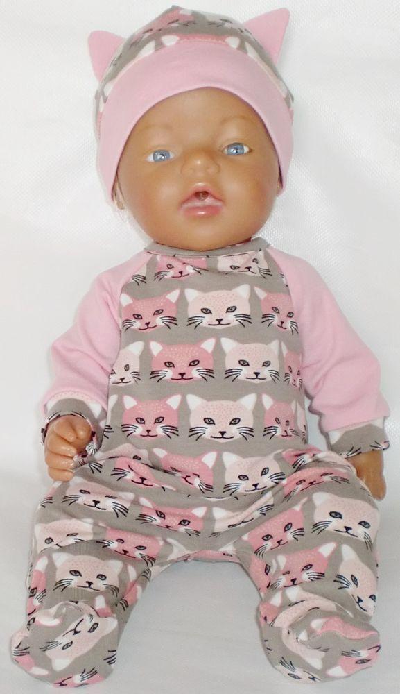 **Puppenkleidung für Baby Born**Puppenstrampler** Neu**43cm ** Strampler Sonstige Babypuppen