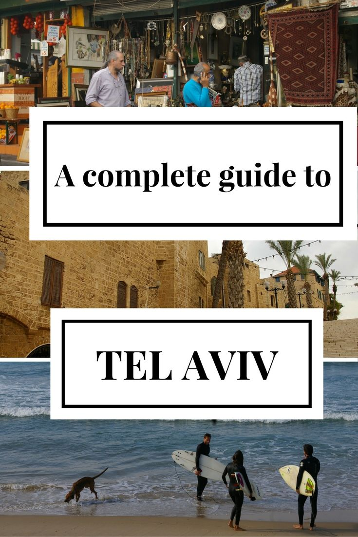 From the old port of Jaffa to the hipster area of Florentin: discover all the neighbourhoods of Tel Aviv in this handy guide!