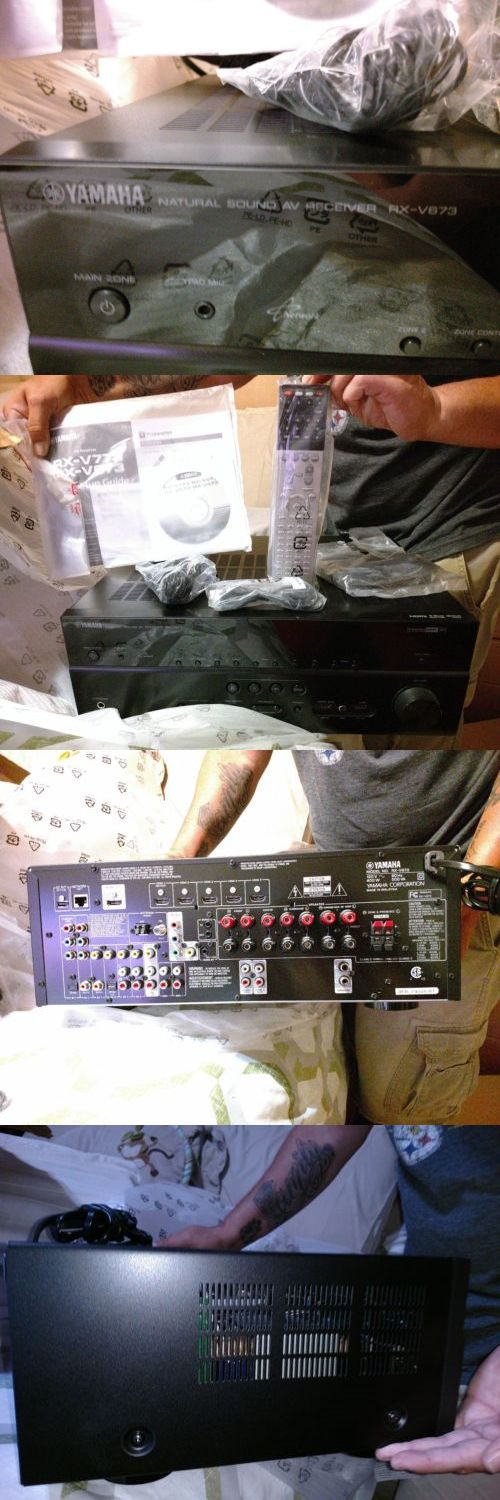 Home Theater Receivers: Yamaha Rx V673 7.2 Channel 90 Watt Receiver -> BUY IT NOW ONLY: $190 on eBay!