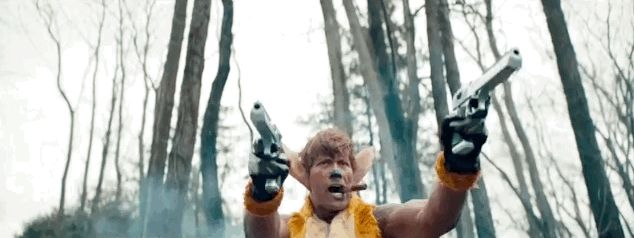 "Together the dream team sets out to avenge the death of Bambi's mother. | Watch The Rock Play A Badass Bambi In ""SNL's"" Live Action Remake"