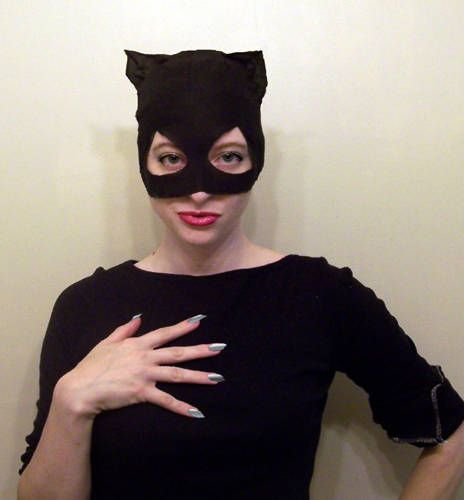 How to make a catwoman mask - MEOW!
