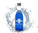 smart chimp - Eau antioxydante à la spiruline (100% naturelle sans sucre fabriquée en France) - 12 bouteilles de 25cl en verre