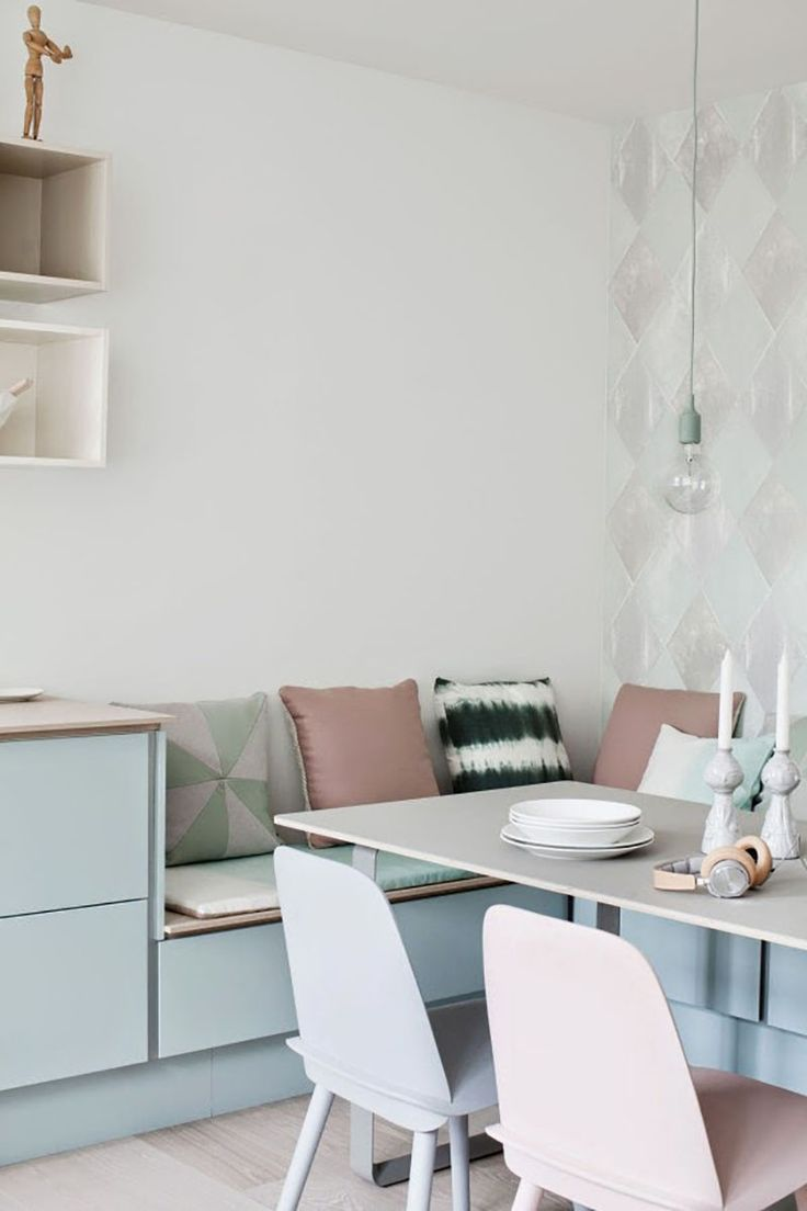 Beautiful Interiors: A Pastel Kitchen | The Artful Desperado