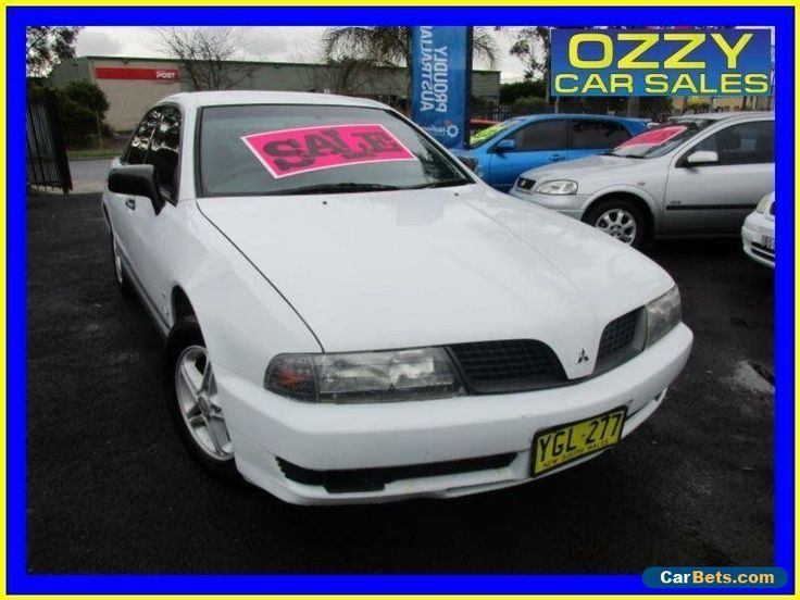 2001 Mitsubishi Magna TJ Executive White Automatic 4sp A Sedan #mitsubishi #magna #forsale #australia
