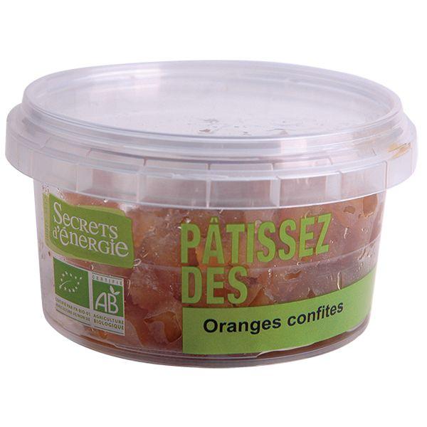 Oranges confites 100 g Secrets d'énergie   Acheter sur Greenweez.com