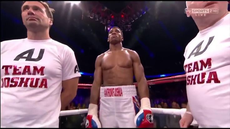 First Fight ! Anthony Joshua vs Emanuele Leo