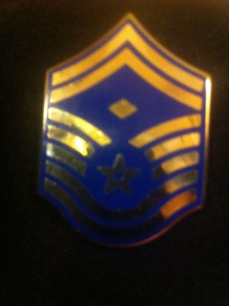 USAF rank insignia, E-8, First Sergeant | U.S. Military ...