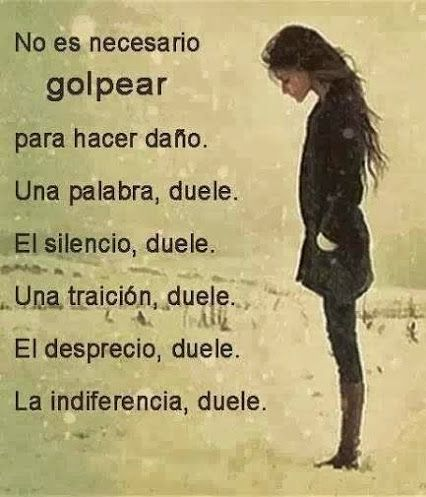 ... Duele.*