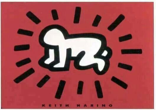 Keith haring baby