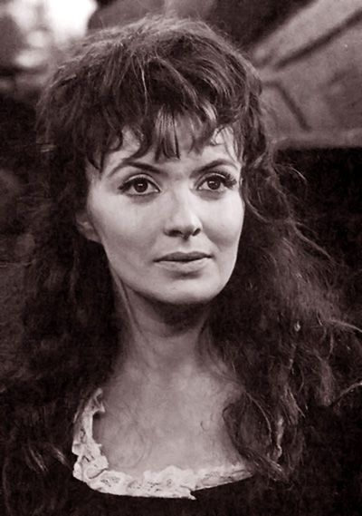 Hannah Gordon as Kirsty MacLaren in the Doctor Who story, The Highlanders. 1966