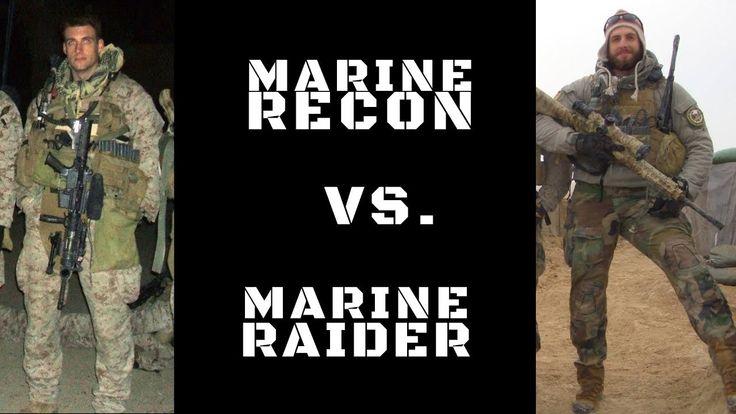 DIFFERENCE BETWEEN MARINE RECON & MARINE RAIDERS - #NickKoumalatsosVideo