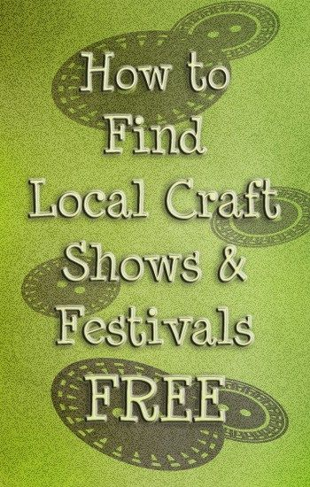 find local craft shows free