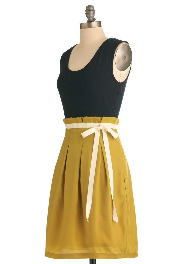 Scenic Road Trip DressFashion Dresses, Trips Dresses, Navy Gold, Road Trips, Scenic Roads, Retro Vintage Dresses, Dresses Modcloth Com, Black Gold, Roads Trips