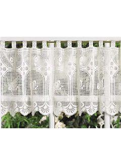 Butterflies in Flight Valance by Hartmut Hass - free Ravelry crochet pattern