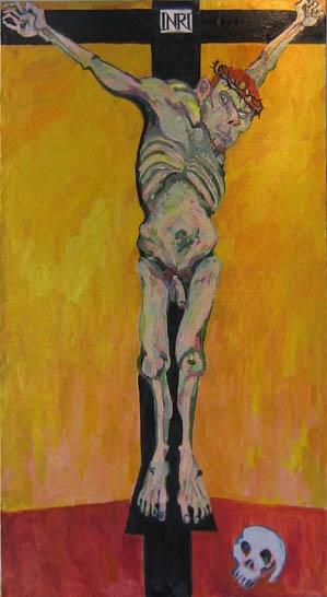 Maxim Kantor - Cruсifixion (2007)