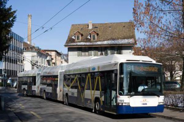 Buslinie 31 - Sprecherstrasse / Zürich