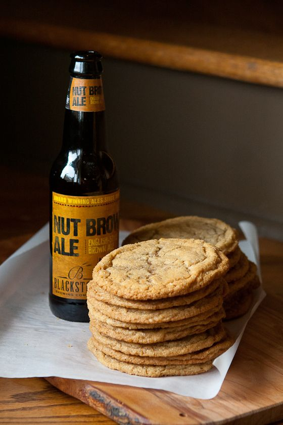 Noted: Chewy Brown Sugar & Brown Ale Cookies