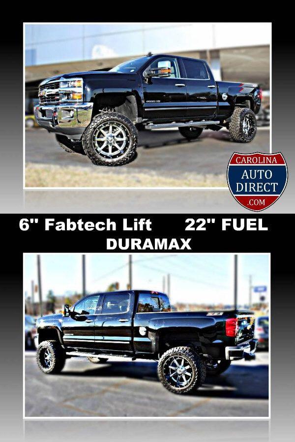 2015 Chevrolet Silverado 2500 Duramax Diesel Lifted