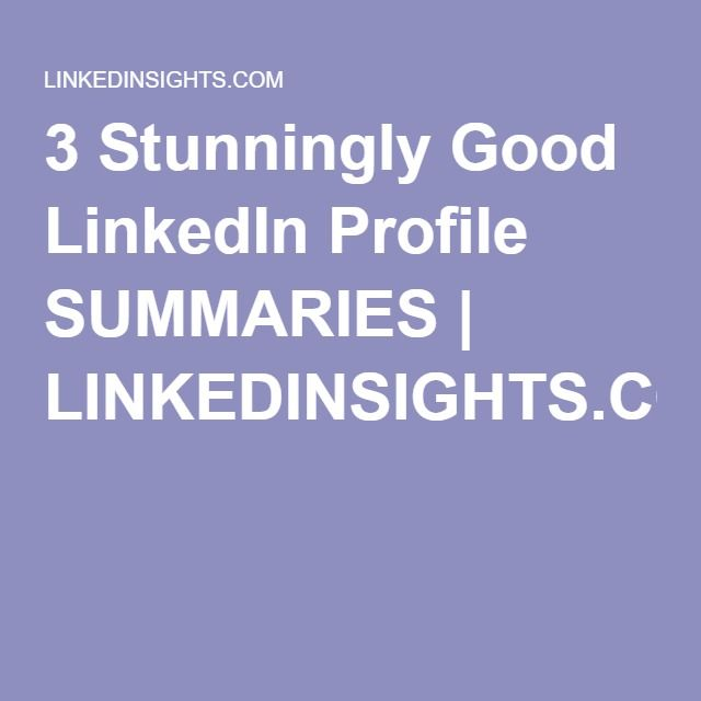 47 best LinkedIn images on Pinterest Job search, Branding and College