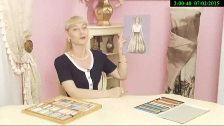 Как сшить летнию юбку в пол. Ольга Никишичева.