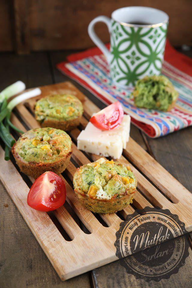 Ispanaklı Kahvaltı Muffinleri Tarifi | Mutfak Sırları