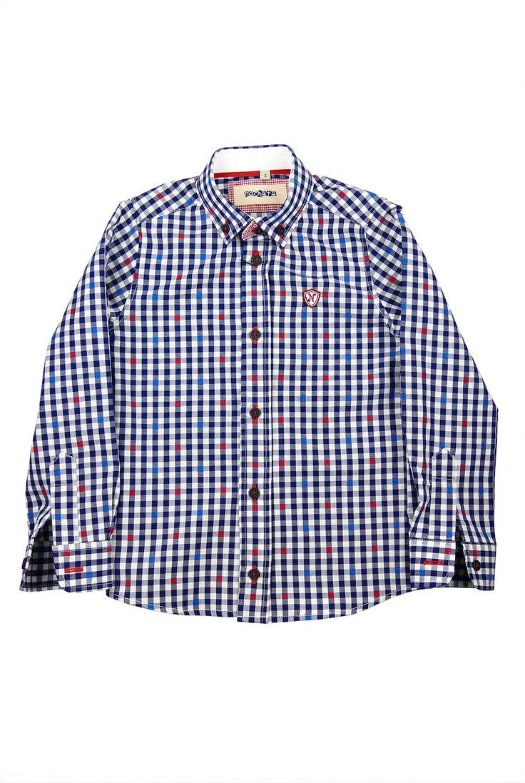 Nachete. Camisa de cuadros. FW16