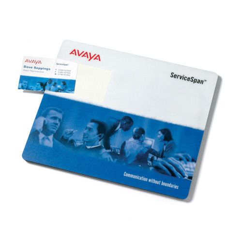 Promotional Business Card Mat
