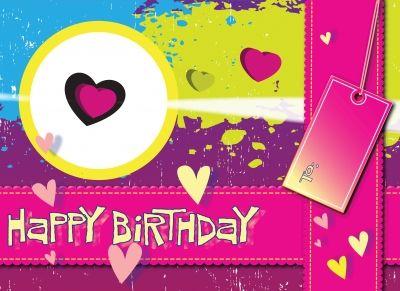Tanti auguri di buon compleanno...