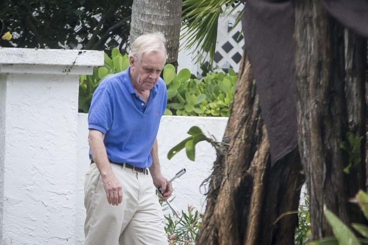 Bill Regnery outside his home in Boca Grande, Florida.