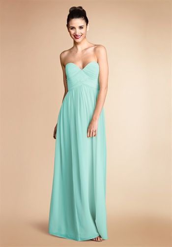 Another bridesmaid dress idea. Love the color.