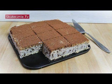 Sernik straciatella vel kostka serowa z czekoladą :: Skutecznie.Tv [HD]