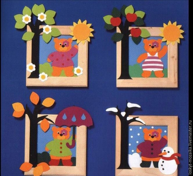 Как сделать вечный развивающий календарь для детей - Ярмарка Мастеров - ручная работа, handmade
