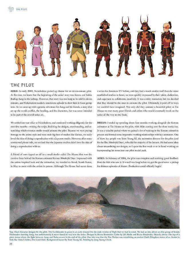 Avatar The Last Airbender Pilot : avatar, airbender, pilot, 3lFeShe, Descripción:, Primer, Libro, Serie, Animada, Avatar:, Leyenda, Aang., Contiene, Bocetos,…, Avatar, Airbender,, Characters,