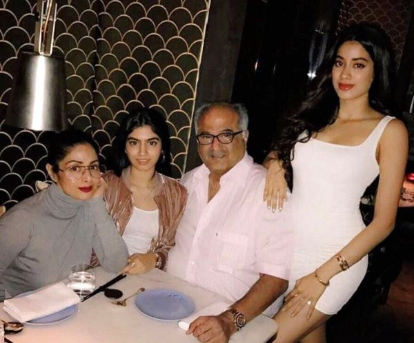 This is what Boney Kapoor feels about Jhanvi's Bollywood debut and it has everything to do with Sridevi #FansnStars