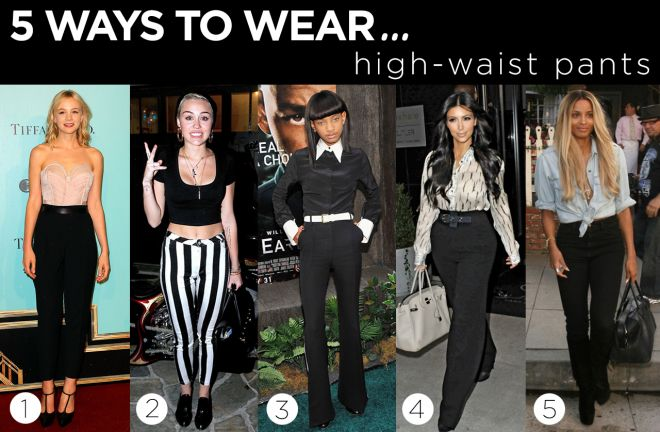 5 Ways to Wear High Waist Pants