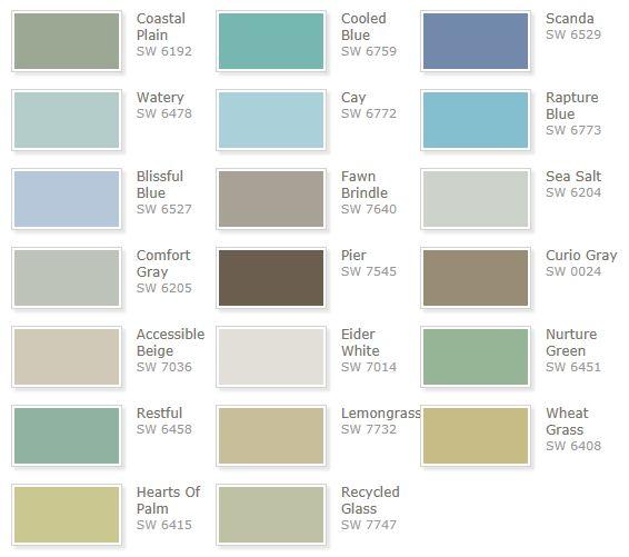 Best 25+ Coastal Colors Ideas On Pinterest | Coastal Paint Colors, Coastal  Color Palettes And Beachy Paint Colors
