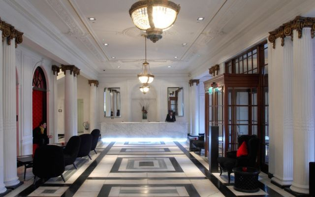 Luxury Scottish Wedding venues - this one with a private cinema room: Blythswood Square in Glasgow.