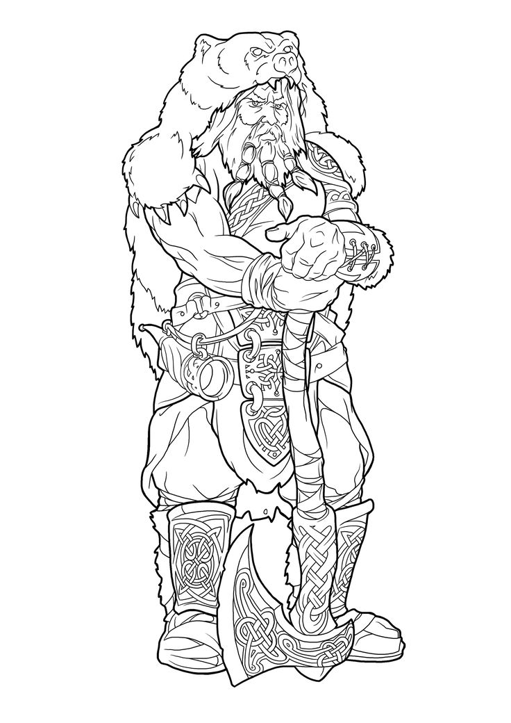 viking coloring pages | Pin by Skadi Raven on Norse | Viking art, Norse tattoo ...