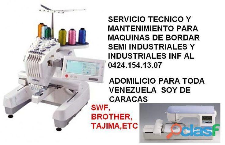 SERVICIO TECNICO DE MAQUINAS DE BORDADOS #servicios #serviciotecnico #bordado #clasfvenezuela