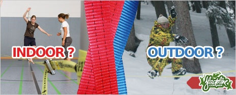Wo #Slacklinen im Winter? Indoor oder #Outdoor ? Der Winter nähert sich mit leisen Schritten und wie...