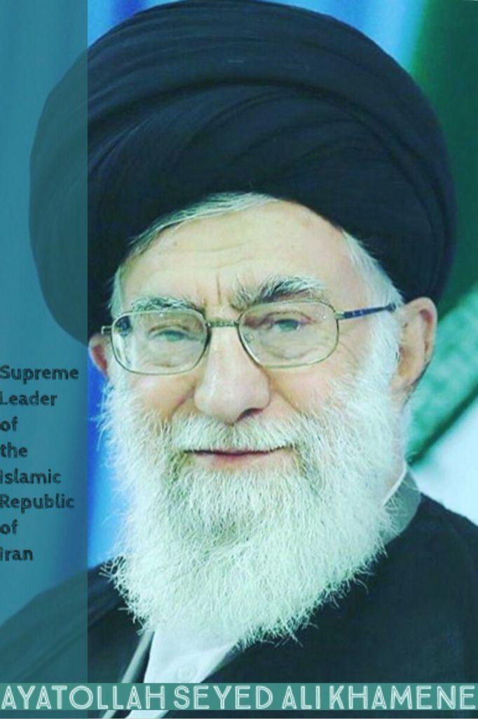#Supreme #Leader #of #the #Islamic #Republic #of #Iran #Ayatollah #Seyed #Ali #Khamenei