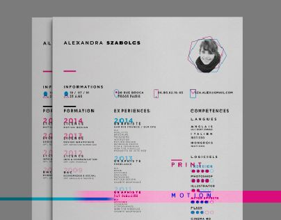 25 best Resumes images on Pinterest Editorial design, Flat style - promotion on resume